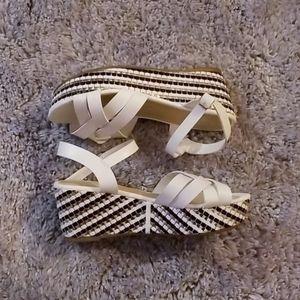 Náutica platform sandal